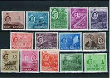 Elizabeth II (1952-Now) North Bornean Stamps