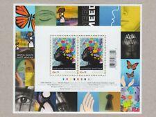 Mental Health = Back Of Book = Souvenir Sheet of 2 Mnh Canada 2011 #B17