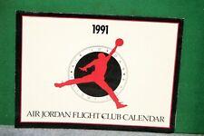 Michael Jordan - Air Jordan Flight Club Calendar 1991 with Wheaties Box Display