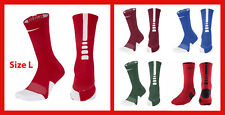 NEW Nike Elite Basketball Crew Socks, size L - 5 different colours