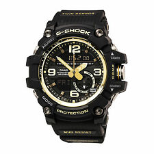 Casio GG1000GB-1A Gent' Mudmaster Ana-Digi Dial Black Band Watch