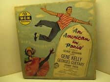 45RPM MGM K93 4-Disc Boxed Set AN AMERICAN IN PARIS Soundtrack Gene Kelly 502A