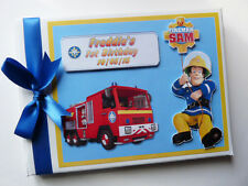 PERSONALISED BOY FAVOURITE TV CHARACTERS BIRTHDAY GUEST BOOK - ANY DESIGN