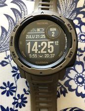 Garmin Instinct Tactical GPS Smart Fitness Watch Coyote Brown PLUS 2x USB Cords
