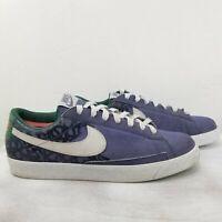 Nike Mens NYX Blazer Low Dunk Purple Green Size 13