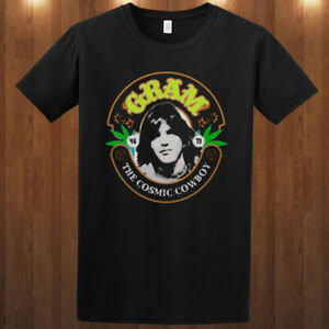 Gram Parsons The Flying Burrito Brothers Byrds graphic cotton T-shirt tee