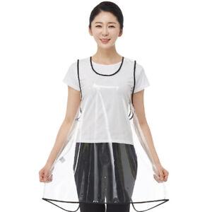 Line Gown LN6081 Large Size Transparent Hair Apron Salon Hairdresser Barber