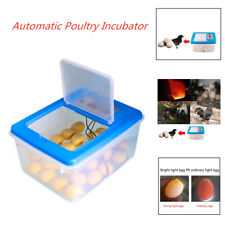 32 Eggs Automatic Poultry Hatcher Water Incubation with Egg Candler Universal