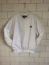 Vintage Retro Bright Bold Ralph Lauren Golf Drill Top Style Overhead Sweater #55