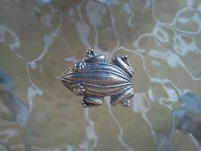 WATER ANIMAL TADPOLES JEWELRY 2 HIS & HERS FROG PEWTER PINS ALL NEW.