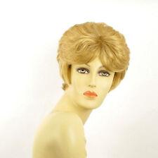 Perruque femme courte blond clair doré VAL LG26