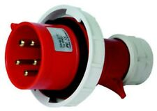 SPINA INDUSTRIALE 3P+N+T 220-380V 16A IP67 ROSSO
