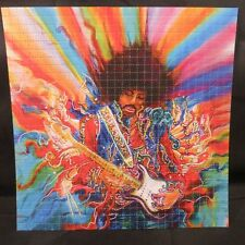 JIMI HENDRIX PSYCHEDELIC DAYGLO BLOTTER ART Fender Guitar 60s 70s style art USA