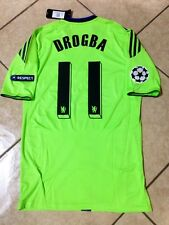 ENGLAND CHELSEA PLAYER ISSUE DROGBA  SHIRT UEFA FOOTBALL JERSEY AUTHENTIC RARE