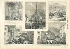 ROCHEFORT FUNERAILLES AMIRAL RIGAULT CHAMBÉRY TOURS ÉTAMPES ORPHÉON  1873