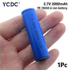18650 Batería De Li-ion Recargable 3.7V 3000mAh Linterna antorcha Faro para 6C