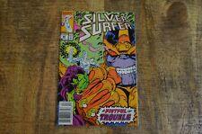 Silver Surfer #44 (Marvel, 1990) 1st App Infinity Gauntlet VF 8.0 Condition