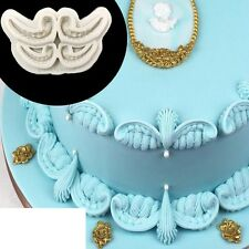 Angel wings Silicone Fondant Icing Mould Wedding Cake Mold Decoration Sugarcraft