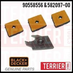 Black & Decker Mouse Sander Diamond carrier & 3 Tips for Models BEW230 & BDM55