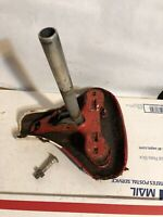 """Vintage Firestone 500 — 26"""" Bicycle Seat & Shaft for Parts or Repair"""