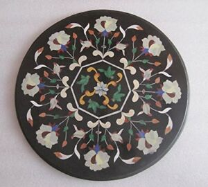 """23"""" Marble Center Coffee Table Top Inlay Handicrafts Work"""