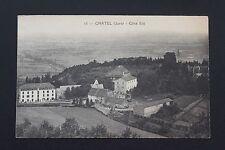 Carte Postale ancienne CPA CHATEL (Jura) - Côté Est