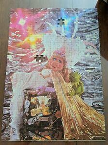 Vintage 1980 Jim Henson's Muppets MB Puzzle 250 Pieces Miss Piggy Fem Fatale