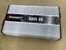 Taramps Bass8K Mono 1 Ohm Car Subwoofer Amplifier - Refurbished Amp - 8000W Rms!
