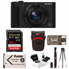 Sony DSC-HX80 High-zoom Digtial Camera with 32GB SD Card and Accessory Bundle