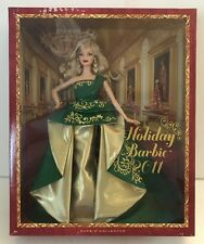 2011 Holiday Barbie Doll Collection T7914 NRFB