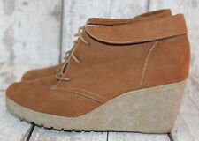 Ladies size 5 'Tan Suede-Style' Boots by New Look, VGC, Get Set For Winter!