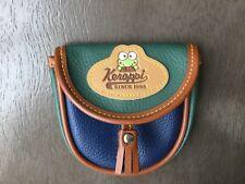 Vintage 90s Sanrio Keroppi coin purse wallet faux leather Hello Kitty EXC