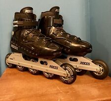 Roces In-Line Skates - Rollerblades - Preowned - Used Once - Made in Italy 10.5