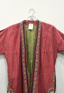 Coat Red Turkmen Chapan