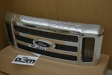 2008-2010 Ford Super Duty Front Chrome Radiator Grille new OEM 8C3Z-8200-BA
