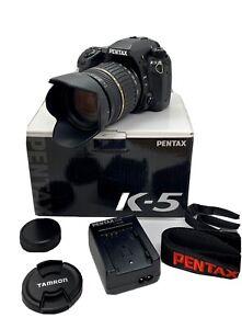 Pentax K5 mit Tamron AF 18-200mm F 3.5-6.3 IF Macro XR Di II