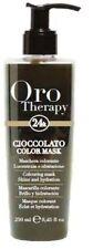 Fanola ORO PURO Therapy Color Mask cioccolato 250 ml