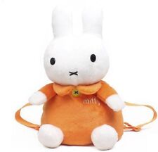 Lovely Miffy Backpack Rabbit plush schoolbag Birthday gift for kids