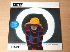 """EX/EX !! Muse/Cave/1999 Mushroom 7"""" Single/Clear Vinyl"""