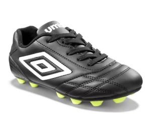 Umbro Kids' Finale Soccer Football Cleats Black, Size 1