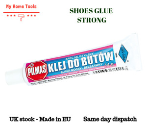 PILMAS - SHOES GLUE REPAIR STRONG Waterproof Rubber Leather Gum Fabric Flexible