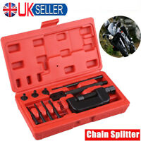 Motorcycle Bike Chain Breaker Splitter Link Riveter Universal Set Riveting Tool