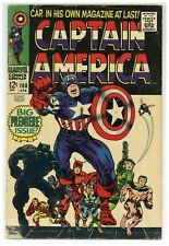 Captain America 100 Marvel Comics 1968 Jack Kirby 1st Issue! Silver Age (j#1892)
