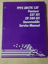 1995 Arctic Cat Snowmobile Service Manual For Pantera, EXT EFI, ZR 580 EFI