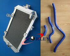 For ATV Yamaha Raptor 660 YFM660R 2001-2005 02 03 04 05 Aluminum Radiator & Hose