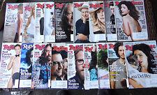 Rolling Stone Magazine Lot of 18 / Obama, U2, Dave Grohl, Robin Williams, Swift