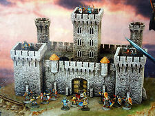 Castle Craft Crusaders Citadel, 16 soldiers, 28mm Plastic Fortress, Tehnolog