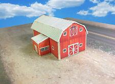 Z Scale Building - Barn Coverstock Paper Pre Cut Kit