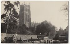 Gloucestershire; Chipping Campden Church RP PPC, Unposted, Note Milk Cart to L