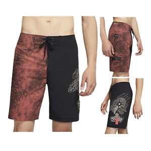"Hurley Men's Phantom Machado Bonsai 19"" Beach Pool  Surf Board Shorts"